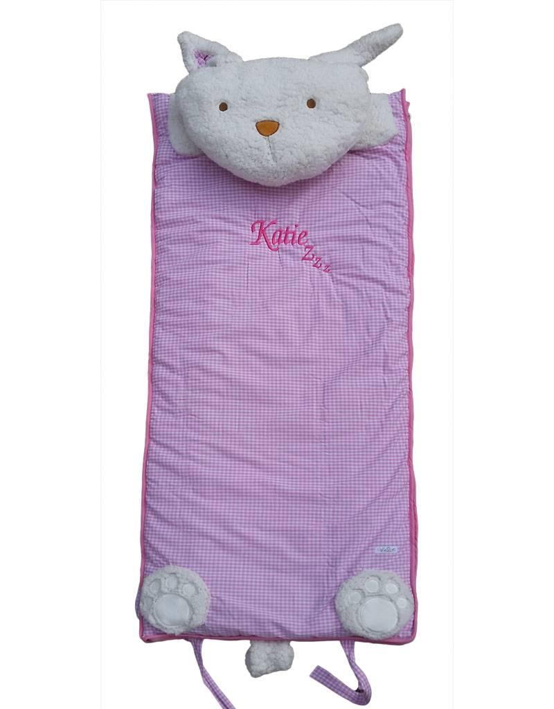 Pink Childrens Sleeping Bag-2