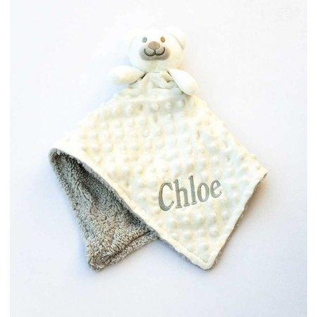 The Name Shops White Comfort Blanket