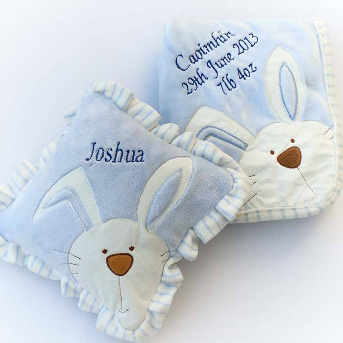 Personalised Baby Bunny Blanket-5