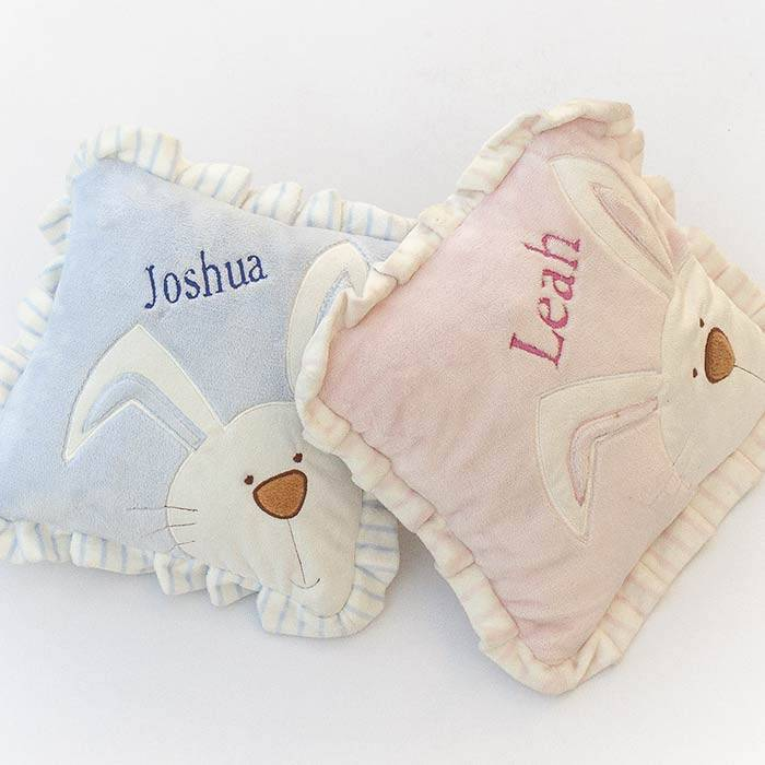 Blue Bunny Baby Cushion-2