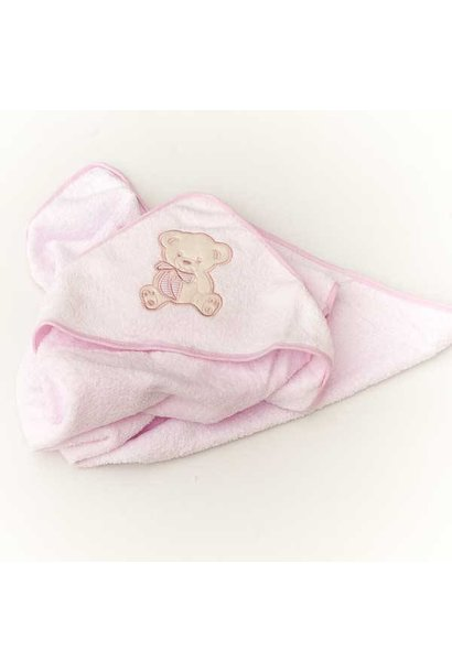 Pink Baby Hooded Towel