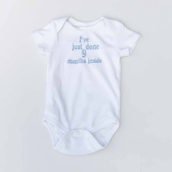 Baby Vest with Message or Funny Quote-3