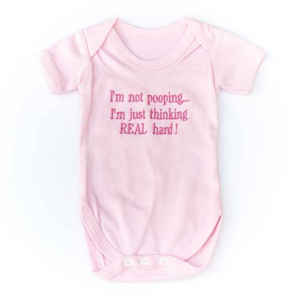 Baby Vest with Message or Funny Quote-2