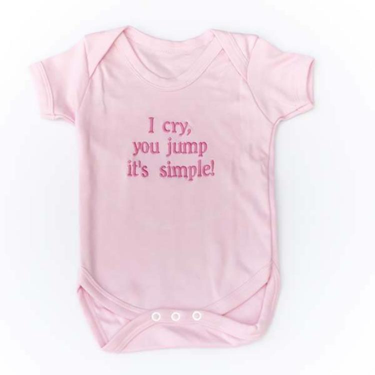 Baby Vest with Message or Funny Quote