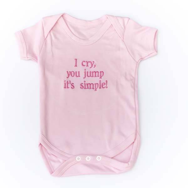 Baby Vest with Message or Funny Quote-5