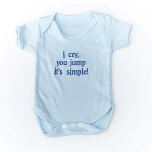 Baby Vests with Personal Message
