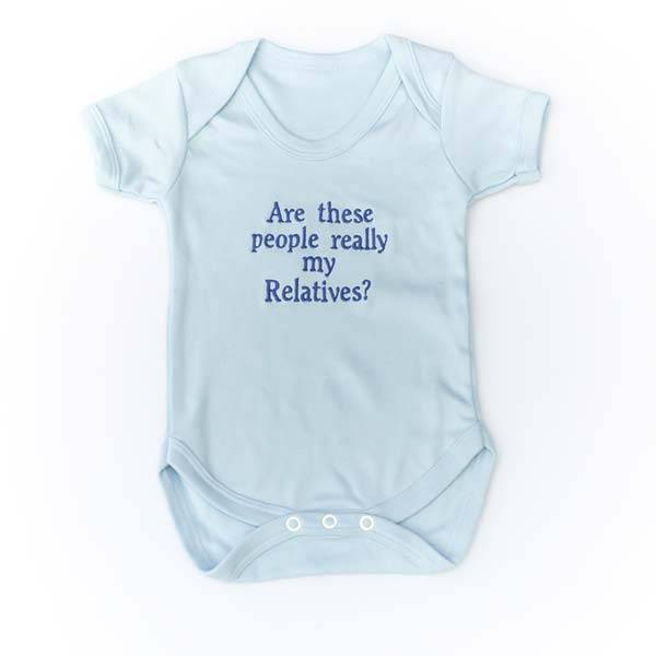 Baby Vest with Message or Funny Quote-6