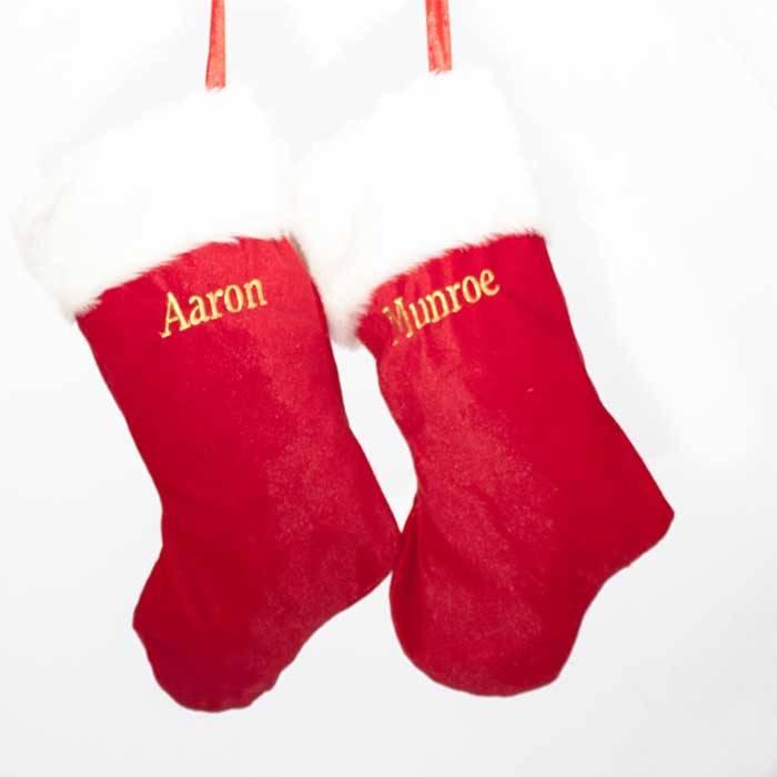 Plain Traditional Christmas Stocking-2