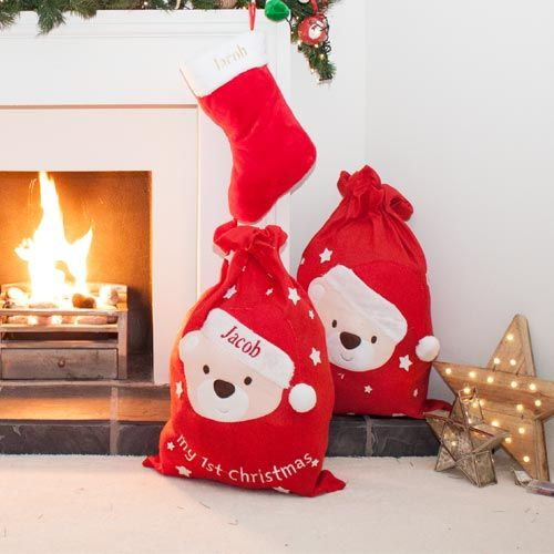 Personalised Large Christmas Sack-2