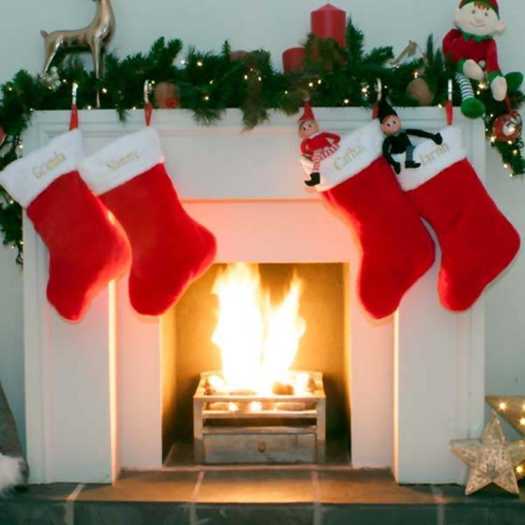 Personalised Plush Christmas Stocking