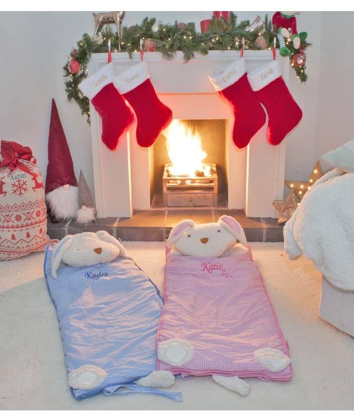 Pink Childrens Sleeping Bag-1