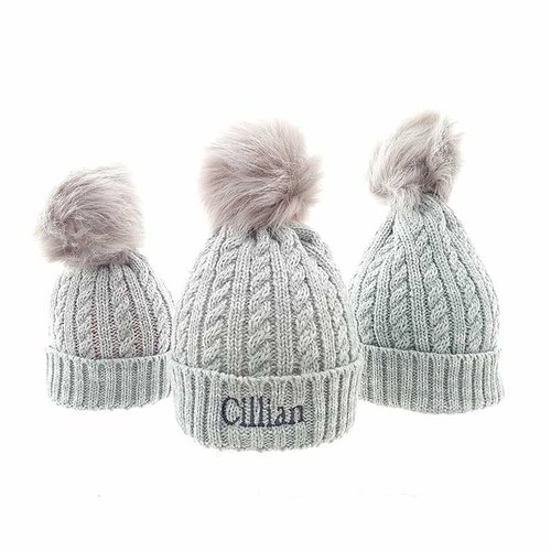 7478afcc66c5e Baby and Kids Hats. Personalised with Embroidery