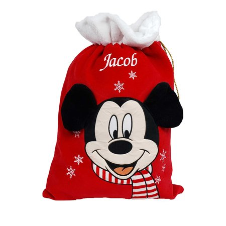 Disney Personalised Mickey Mouse Sack - Disney