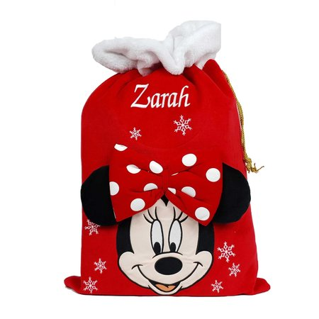 Disney Personalised Minnie Mouse Sack - Disney