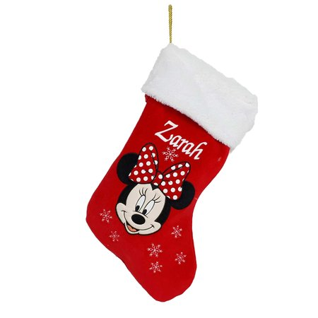 Disney Personalised Minnie Mouse Stocking - Disney
