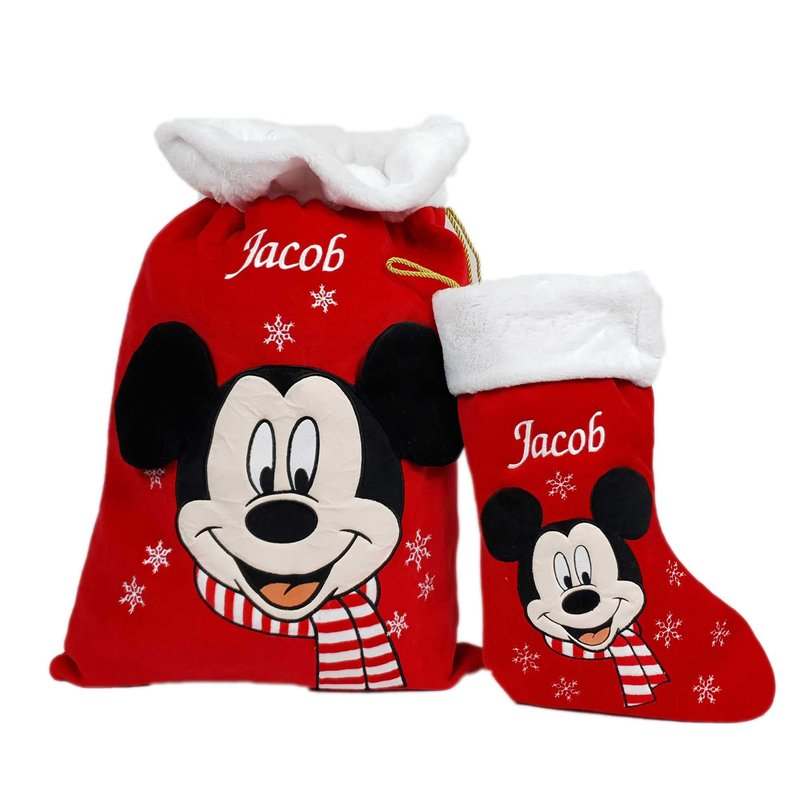 Disney Personalised Disney Stocking - Mickey Mouse