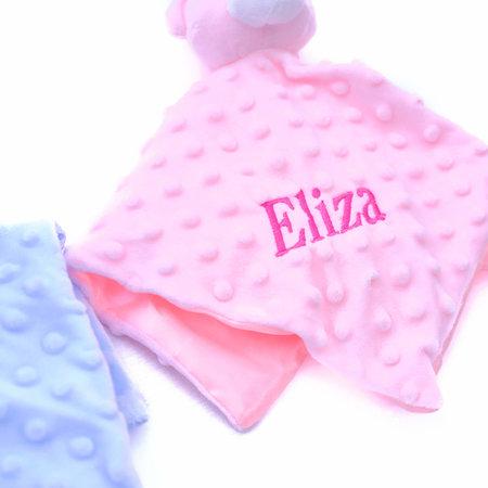 The Name Shops Pink Comfort Blanket