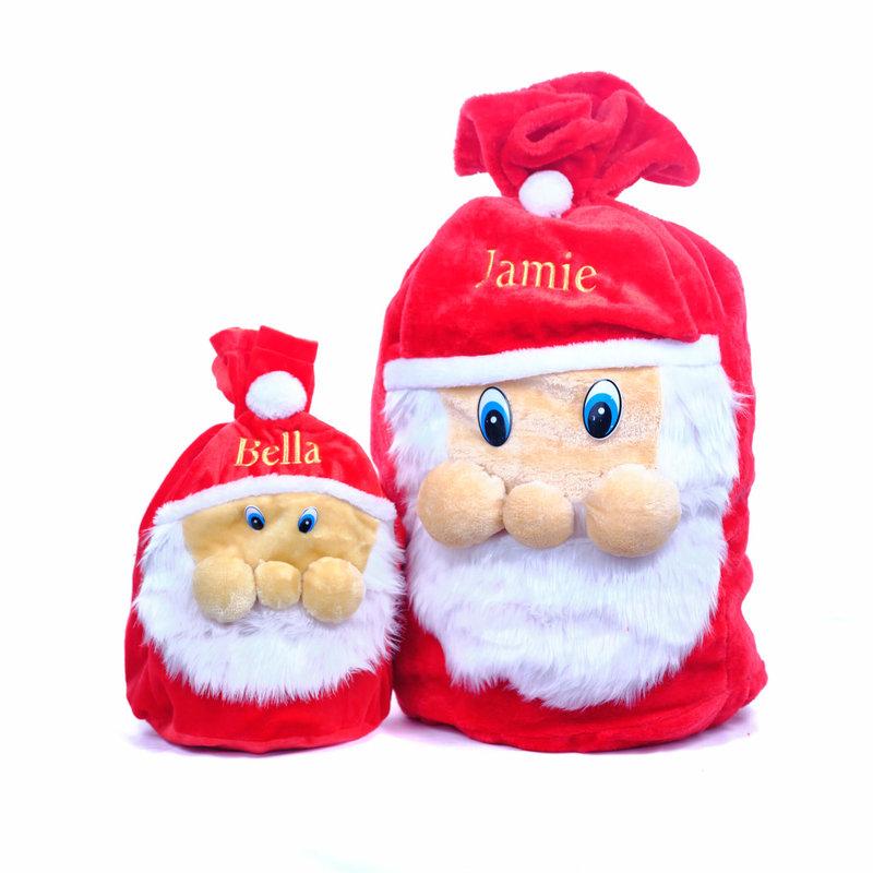 Small and Large Christmas Santa Sack