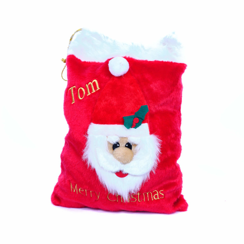 Personalised Small Deluxe Christmas Sack