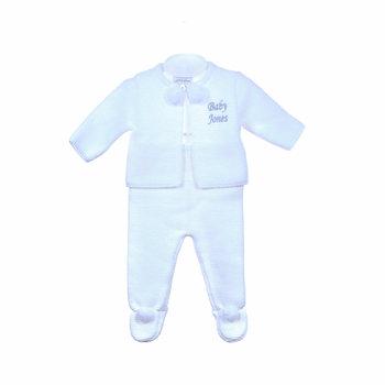 Dandelion White Baby Pom Two Piece Set