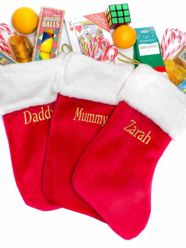 Personalised Christmas Stockings and Sacks