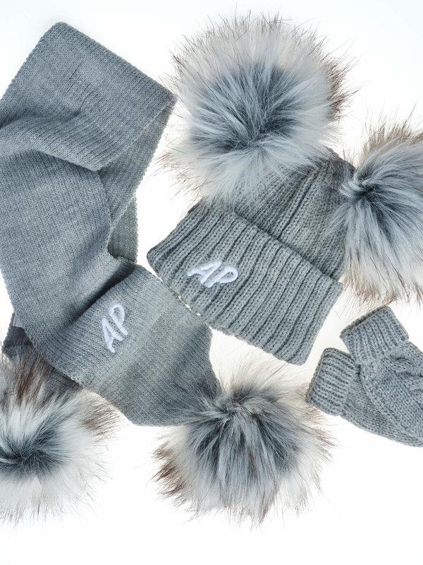 Chunky Knit Pom Hats