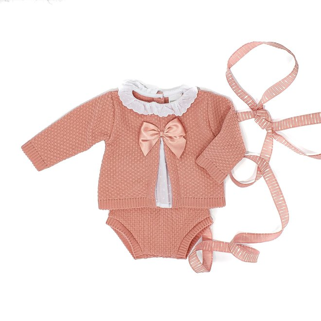 Personalised Dusty Pink Two Piece Set