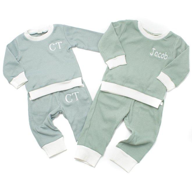 Personalised Baby & Kids Blue Tracksuit