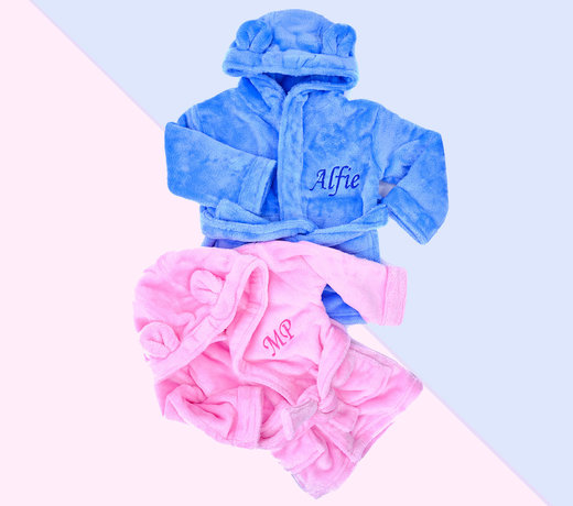 Personalised  Dressing Gowns for Baby & Kids