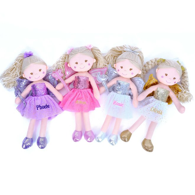 Personalised Fairy Rag Doll