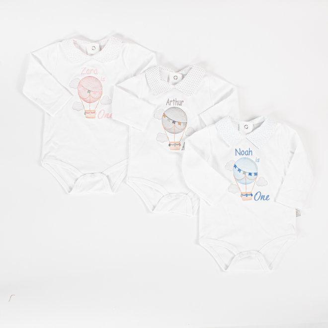 Personalised 1st Birthday  White Vest