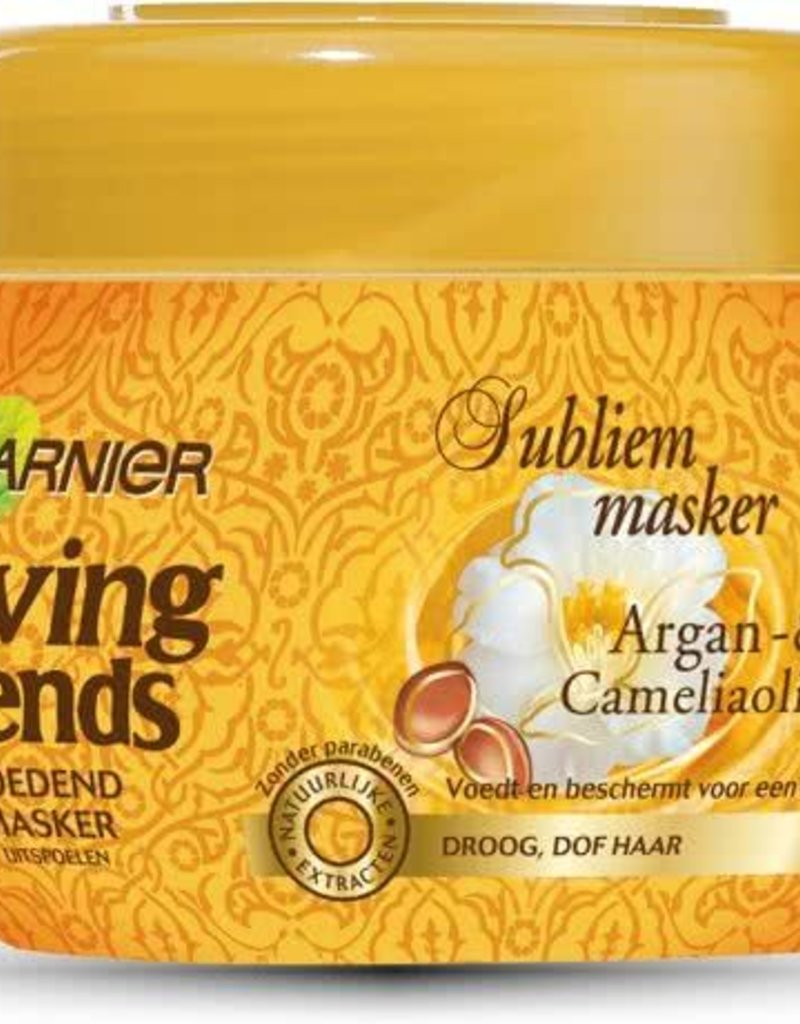 Garnier Loving Blends Argan & Cameliaolie Sublieme Masker