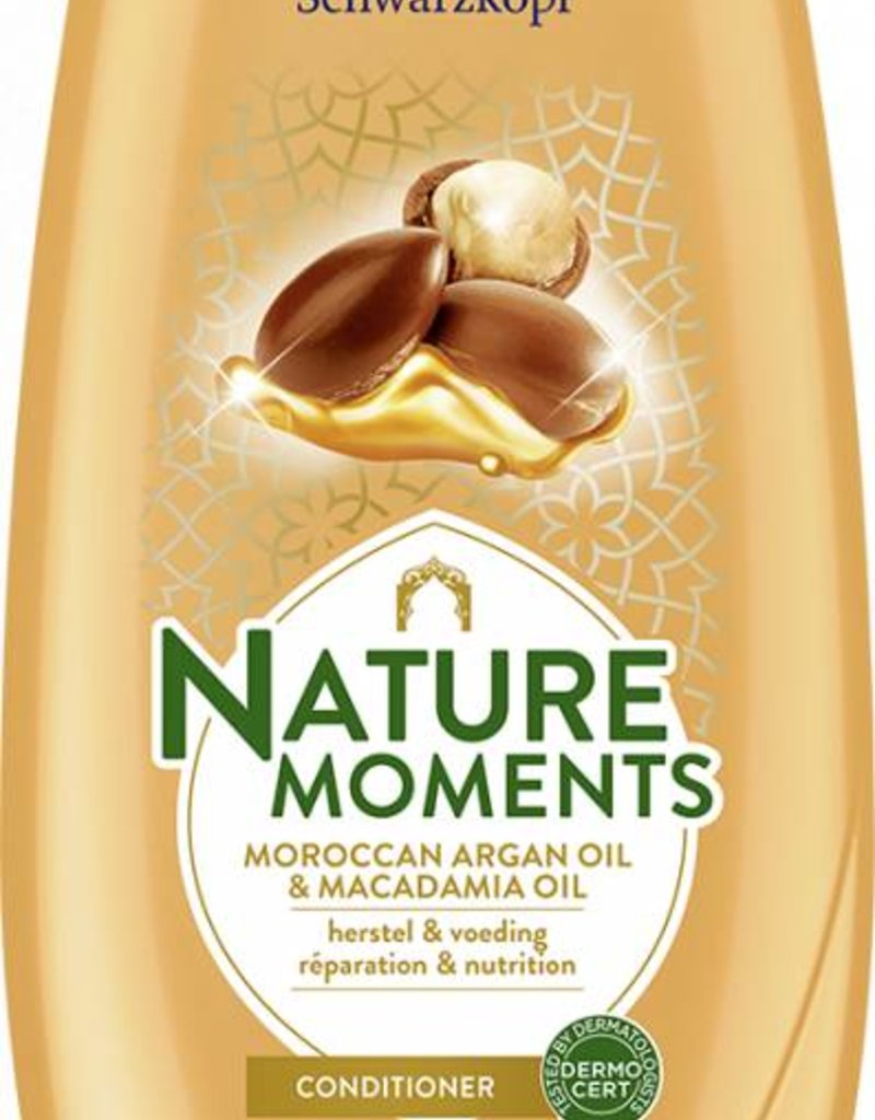 Schwarzkopf Nature Moments Moroccan Argan Oil & Macadamia Oil Conditioner