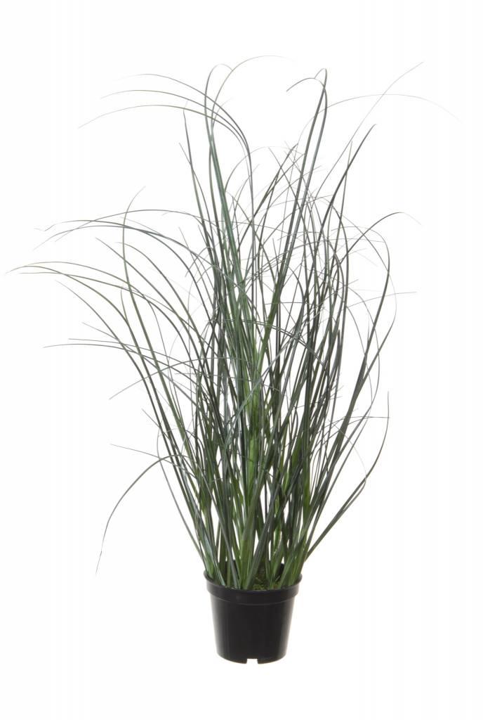 Tina collection kunstplant siergras donker groen 45cm