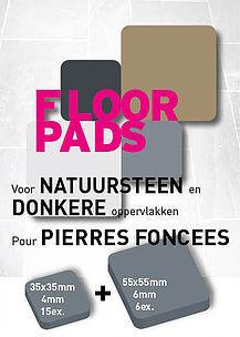 Pot-Pads Flore Pads Natuursteen