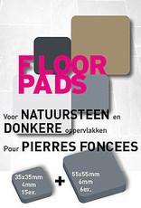 Pot-Pads Flore Pads Natuursteen Zelfklevend