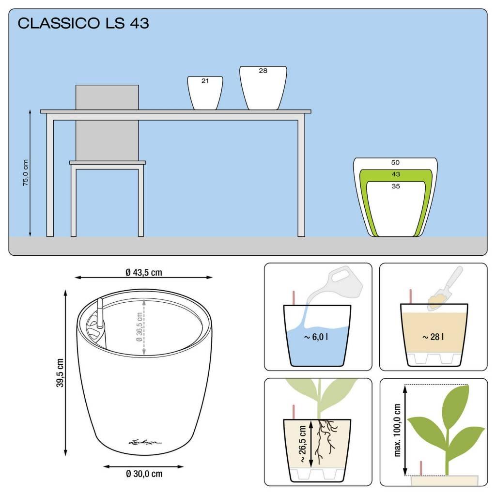 Lechuza Classico Premium LS All-in-one-set