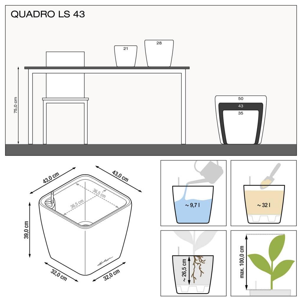 Lechuza Quadro Premium LS - All in one set