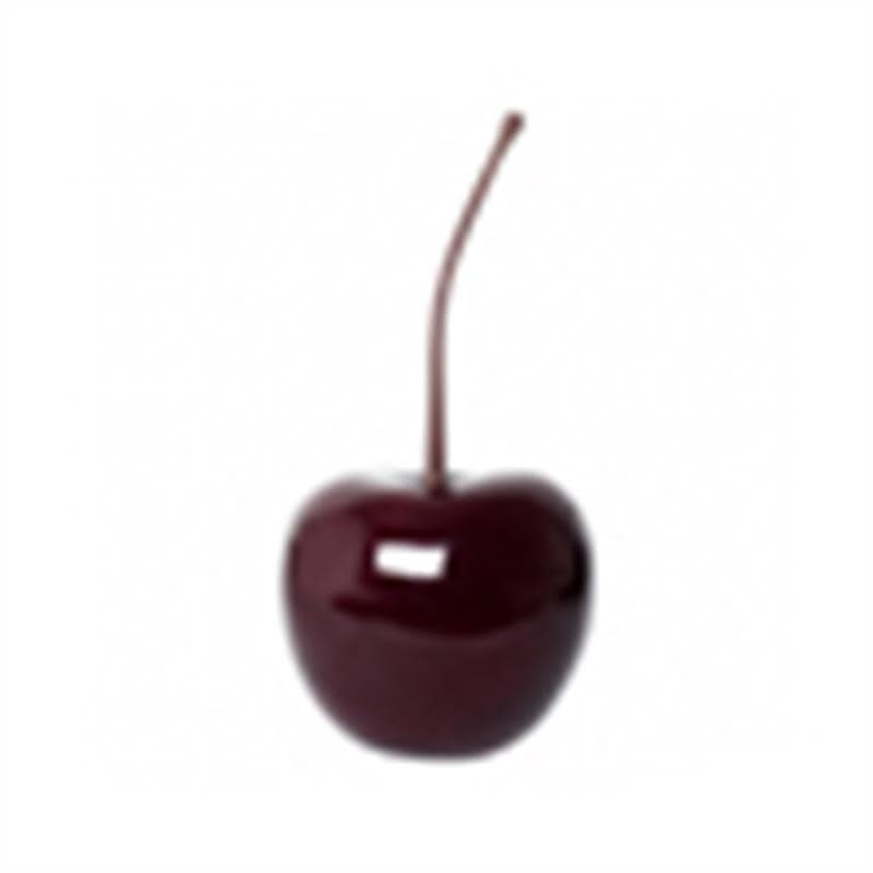 Pottery Pots Cherry Glossy Red 32x70 cm