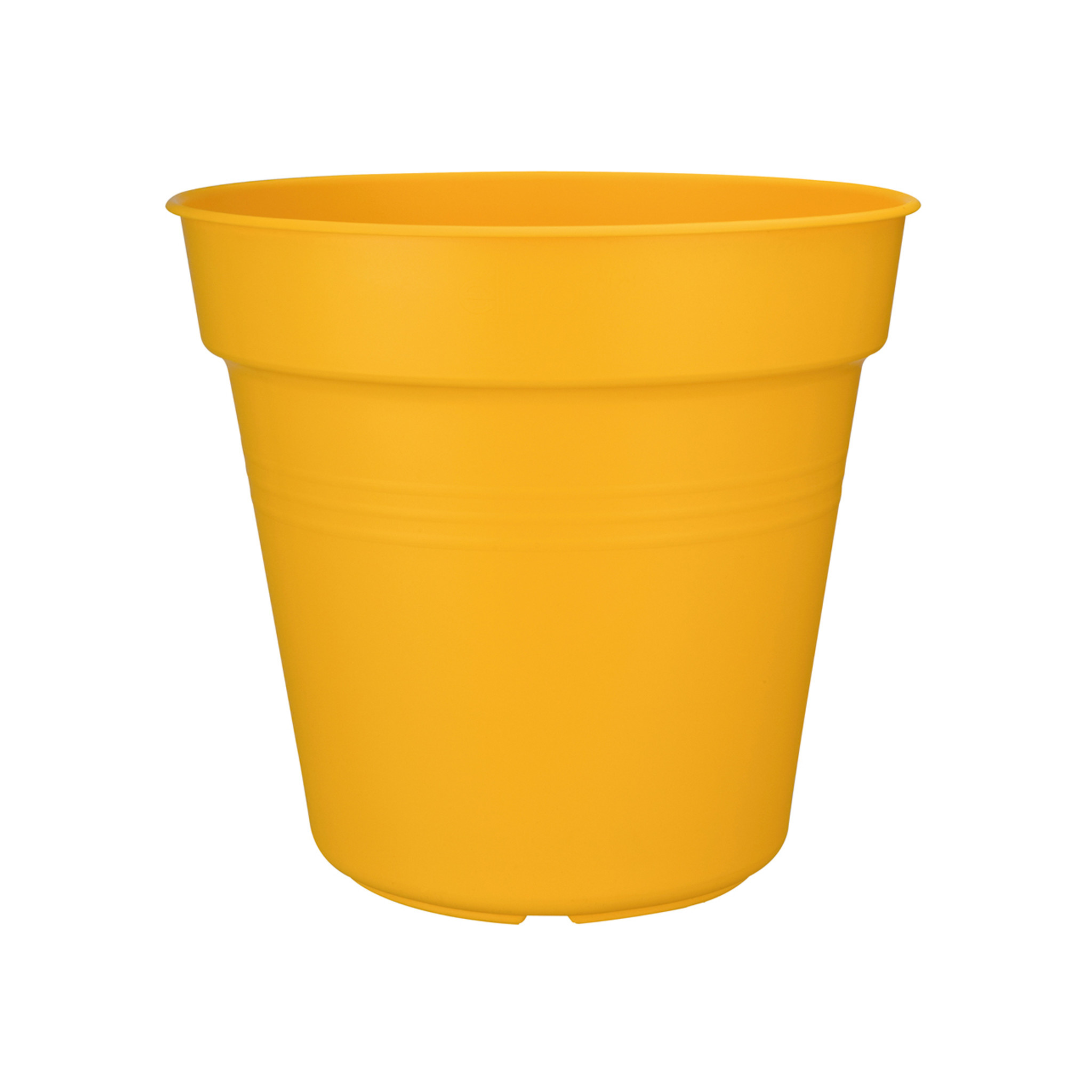 Elho Green Basics Kweekpot intens geel 30x27,6 cm