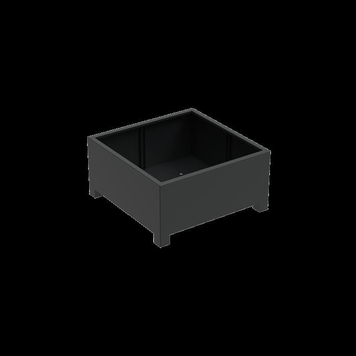 Pottenland Aluminium Vierkant met poten