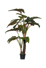 Pottery Pots Alocasia Tree Artificial