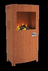 Pottenland Vuurtafel op gas - 70 x 46 x 140 cm