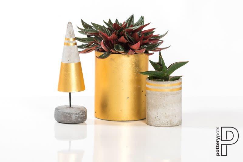Pottery Pots Tree Round S, Concrete