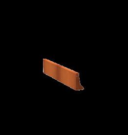 Pottenland Keerwand cortenstaal recht 150 x 30 cm