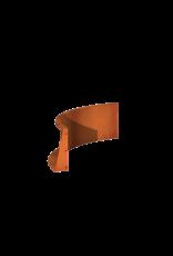 Pottenland Keerwand cortenstaal binnenbocht 100 x 100 x 40 cm
