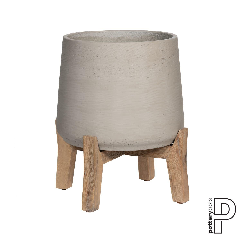 PotteryPots 2021 Patt Feet Low Rough