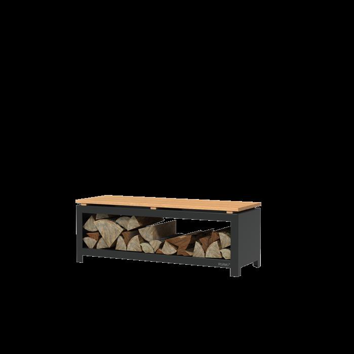 Pottenland Houtopslag Bench