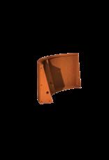Pottenland Keerwand cortenstaal buitenbocht 100 x 100 x 60 cm