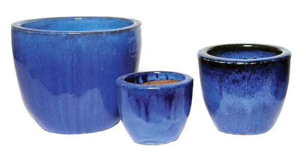MegaCollections Egg Pot Blauw